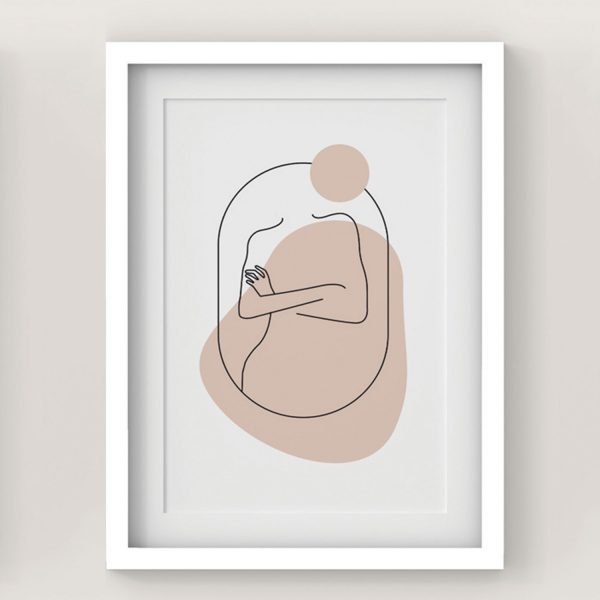 Plakat Kobieta