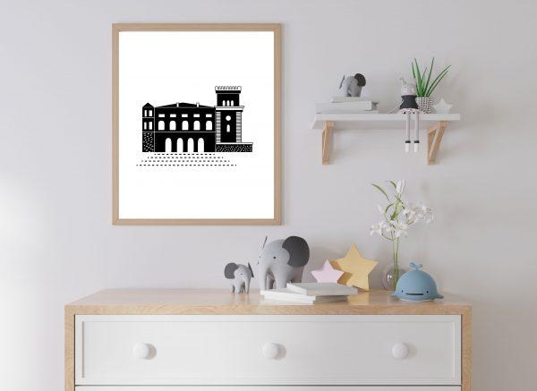 Plakat Zamek